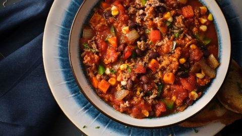 Black Bean & Veal Chili