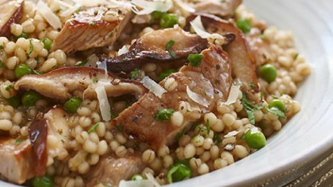 Ontario Veal and Barley Risotto