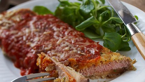 Ontario Veal and Eggplant Parmesan