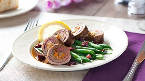 Sweet Potato Stuffed Veal