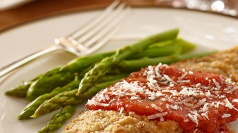 Veal Cutlets with Homemade Tomato Sauce