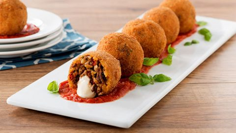 Veal and Cheesy Arancini