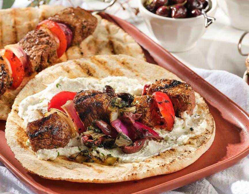 Grilled Ontario Veal Kebabs
