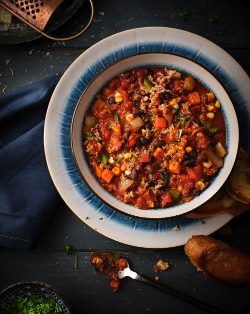 Black Bean \u0026 Veal Chili