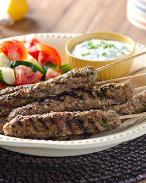 Curry Veal Kebabs