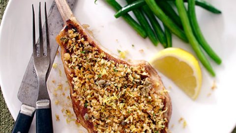 Lemon Caper Veal Chops