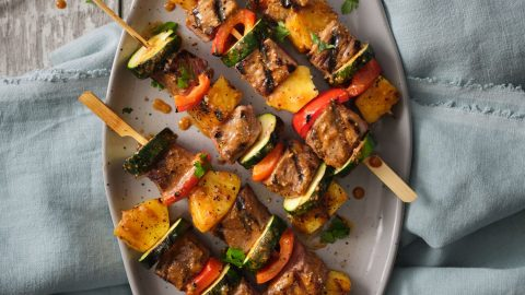 Marinated Veal Kabobs