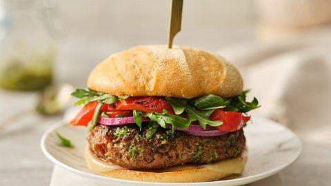 Mediterranean Veal Burgers