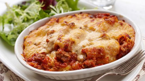Ontario Spicy Veal and Pepper Baked Pasta