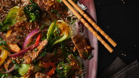 Orange Ginger Stir-fry
