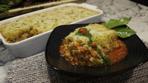 Plantain & Veal Casserole
