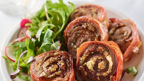 Prosciutto Wrapped Veal Roulade