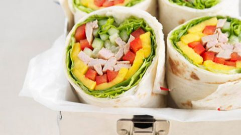 Sweet Chili Thai Veal Wraps