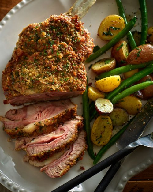 Veal Cordon Bleu with Almond Crust