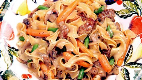 Veal Noodle Supper