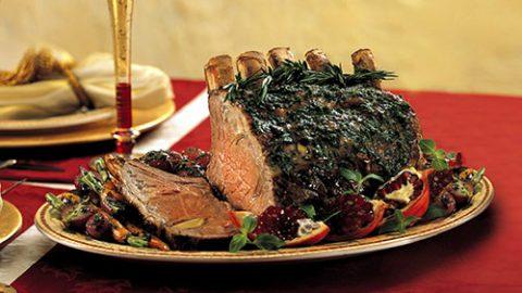 Veal Roast with Pesto