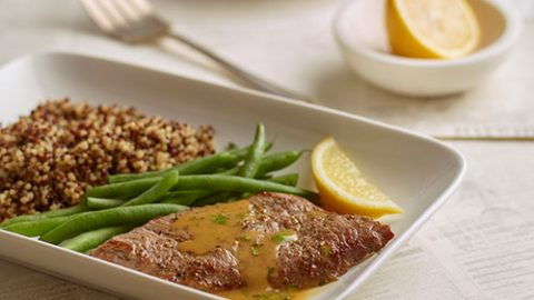 Veal Scaloppini with Butter Sauce