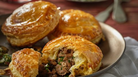 Veal and Chive Turnovers