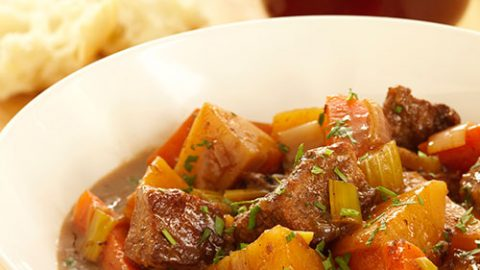 Veal and Root Vegetable Stew