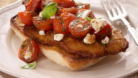 Veal and Tomato Melt