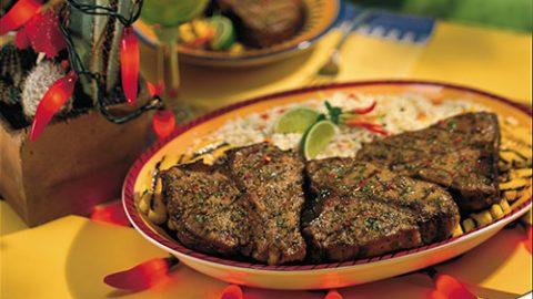 Santa Fe Grilled Veal Chops